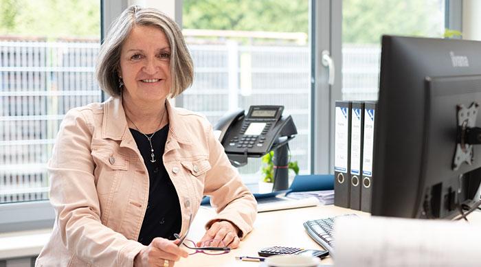 Marika Sachau - hmp-Mitarbeiterin