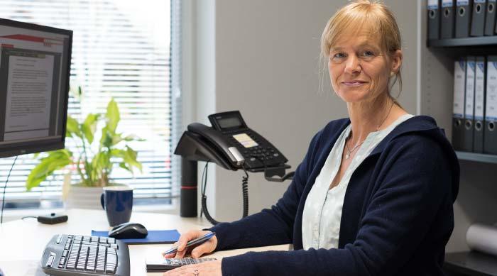 Andrea Bauers - hmp-Mitarbeiterin